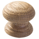 1'' Face Oak Grain Knobs