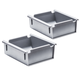 2-Pack of Bins for Rockler Lock-Align Drawer Organizer System