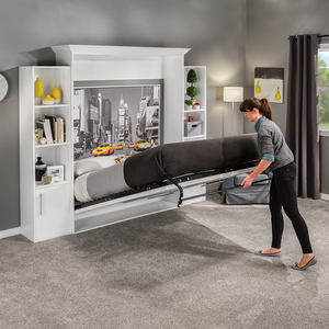 I Semble Vertical Mount Murphy Bed Hardware Kits With Mattress Platforms Rockler Woodworking And