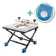 Rockler Convertible Benchtop Router Table with Insert Plate Kit for Compact Routers