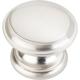 Satin Nickel Cordova Cabinet Knob 1-3/8'' D