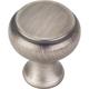 Brushed Pewter Westbury Cabinet Knob 1-1/4'' D