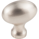 Satin Nickel Lyon Cabinet Knob 1-9/16'' D