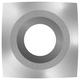 Easy Wood Tools 1600NR Ci1-R2-NR Negative Rake Square Carbide Replacment Cutter, 2'' Radius
