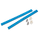 Wall Brackets for Rockler Lock-Align Drawer Organizer System, 2-Pack