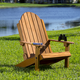 Folding Adirondack Chair Templates with Plan and Stainless Steel Hardware Packs
