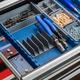 Pliers Rack for Rockler Lock-Align Drawer Organizer System