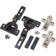 Partial Overlay Pocket/Flipper Door Hinge Kit