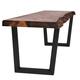 V-Shaped Welded Steel Table Leg Set