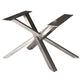 28''H Straw Bundle ''Light'' Welded Steel Table Base, Unfinished