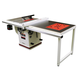 Jet® Deluxe Xacta 3HP 10'' Table Saw w/50'' Fence, Downdraft Table, & Leg Set