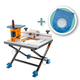 Triton Oscillating Spindle Sander with Convertible Benchtop Router Table, Sander Plate and Router Plate