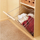 Tilt Out Hamper Basket, Chrome, Wire (CTOHB-211319-CR-52)