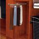 Designer 13 3/4'' Tie/Scarf Organizer, Chrome, Metal (CTR-14-CR)