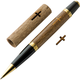 Bethlehem Olivewood Cross Laser-Cut Inlay Pen Kit Blank