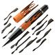 Flame© Laser-Cut Inlay Pen Kit Blank