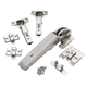 Sugatsune Aileron Lift-Assist Soft-Close Hinge Set and Lid Stay for Chests
