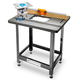 Rockler ProMax Cast Iron Router Table Top, Pro Lift, 32'' ProFence and Stand