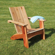 Modern Adirondack Chair Templates with Plan and Stainless Steel Hardware Pack