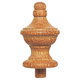 Oak Turned Finial, 3-1/4''