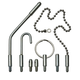 Universal Attachment Kit for Fiberfish Wire Installation Rods
