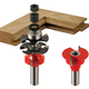 Freud® 99-760 Quarter- Round Premier Adjustable Rail and Stile Router Bit Set - 1-11/16