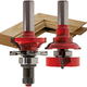 Freud® 99-763 Bead Rail and Stile Router Bit Set - 1-11/16