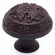 Bronze Rust Glaze American Revival Knob