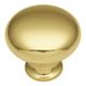 Solid Brass 1-1/4'' Knob