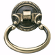 Antique Brass Hardware Ring Pull