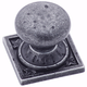 Wrought Iron Dark Ambrosia Knob