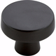 Black Bronze Blackrock Round Knob