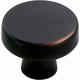 Oil Rubbed Bronze Blackrock Knob