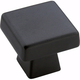 Amerock Blackrock Black Bronze Square Knob, BP55271-BBR