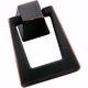 Oil Rubbed Bronze Blackrock Pendant Pull