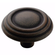 Antique Rust Brass and Sterling Traditions Knob
