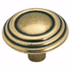 Amerock Brass and Sterling Traditions Knob, BP1307-O77
