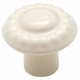 Almond Color Washed Ceramics Knob