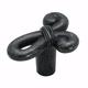 Wrought Iron Dark Cyprus Knob