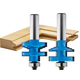 Rockler Classical Stile and Rail Router Bit - 1-3/8