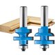 Rockler Round Rail and Stile Router Bit - 1-5/8