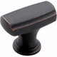 Dark Oiled Bronze Highland Ridge Knob