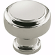 Amerock Highland Ridge Polished Nickel Round Knob, BP55312-PN