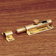 Sliding Barrel Bolt, Solid Brass