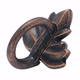 Rustic Bronze Nature's Splendor Finger Pull