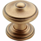Amerock Revitalize Gilded Bronze Round Knob, BP55341-GB