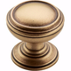Amerock Revitalize Gilded Bronze Round Knob, BP55342-GB