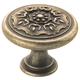 Brown Sundara Weathered Brass Knob