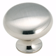 Amerock Anniversary Collection Sterling Nickel Knob, BP853-G9