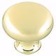 Brushed Brass Anniversary Knob